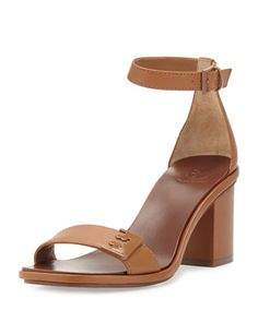 Gabrielle+Leather+City+Sandal,+Royal+Tan+by+Tory+Burch+at+Neiman+Marcus.