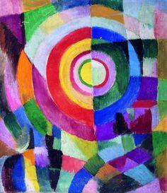 Sonia Delaunay Electric Prisms 1913-14 Centre National des Arts Plastiques, Paris, France