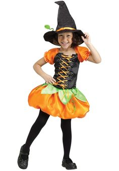 Pumpkin Patch Witch Costume, Toddler Size - Child Halloween Costumes at Escapade™ UK - Escapade Fancy Dress on Twitter: @Escapade_UK