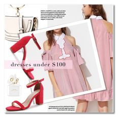 """Under $100: Summer Dresses"" by svijetlana ❤ liked on Polyvore featuring Marc Jacobs, under100 and shein"