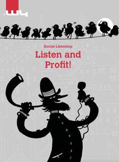 The cover of our free white paper on social listening. #Marketingblatt #SocialListening