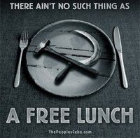 There is no such thing as a free lunch #auspol Illegally boat shit can FUCK OFF