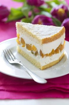 Tvarohová torta s marhuľami