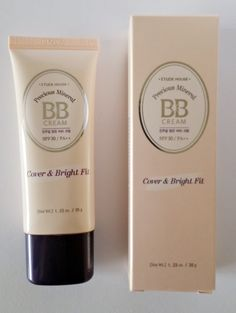 Korean Beauty Dream: [Etude House] Precious Mineral BB Cream Cover & Bright Fit #Honey Beige