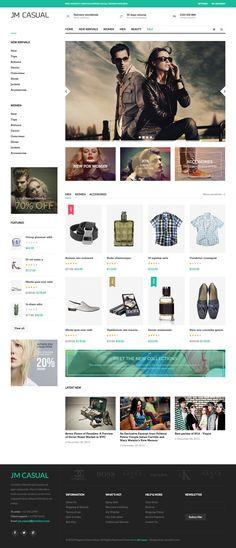 Casual - #responsive #Magento fashion themes