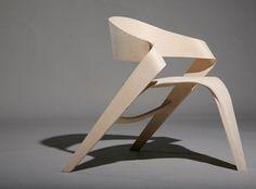 Copenhagen Chair by Alvaro Uribe: Made of oak.