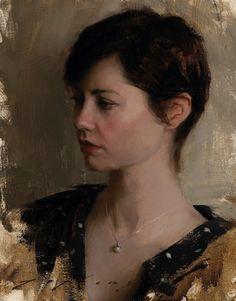 Jeremy Lipking, Portrait of Sheryl Guerroro