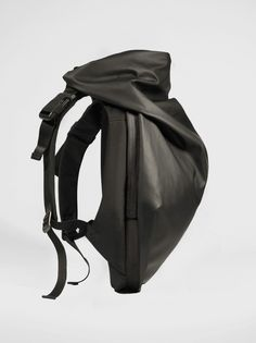 Nile Rucksack Fashion's appropriation of architectural principles has contributed to the evolution of the Nile collection. Arecasting of our iconic Isar Rucksack, with its complex interplay between form, space and practicality, the Nile rucksack effortlessly balancesinnovative modern fabrics and architectural shapes, to ensure every backpack not only accompanies the journey of universally minded intrepid users, it complements it.With fabrics that are informed by minerals ...