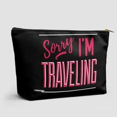 Sorry, I'm traveling - Pouch Bag - airportag   - 1