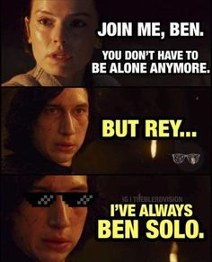 SOLO - Star Wars Meme Funny Star Wars Memes – Perfect For May the Fourth Day / Star Wars Day Sourc. You are in the right place about Memes de amor Star Wars Film, Star Wars Witze, Star Wars Jokes, Star Wars Memes Clean, Star Wars Kylo Ren, 9gag Funny, Hilarious Memes, Funny Puns, Images Star Wars