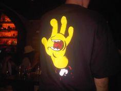Simpsons Screaming Hand