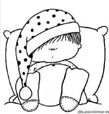 Sleeping Baby Precious Moments Coloring Pages Dibujos Para