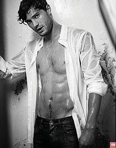 Jamie Dornan. Oh my goodness. Please marry me??