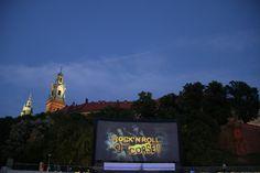 open-air cinema: Kino pod Wawelem (Krakow Film Festival)