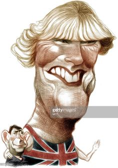 """My very own""""Rottweiler?:"""" Ron Coddington caricature of Camilla Parker Bowles."""