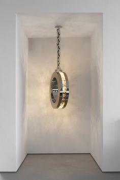 Brand Van Egmond - Diamonds From Amsterdam Hanging Lamp Round Home Lighting, Modern Lighting, Lighting Design, Lighting Ideas, Foyer Chandelier, Chandeliers, Suspended Lighting, Interior Concept, Pretty Lights
