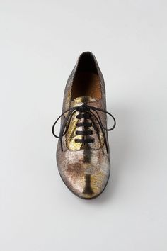 #fallfaves Anthropologie Glitzen Oxfords. $365. @Anthropologie .