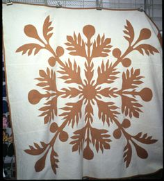 More than fifty thousand contemporary and traditional quilts at your fingertips, plus journals, essays, galleries, lesson plans and more featured on the Quilt Index. Hawaiian Quilt Patterns, Hawaiian Quilts, Aplique Quilts, Paper Snowflakes, Traditional Quilts, Paper Cutting, Applique, Quilting, Throw Pillows