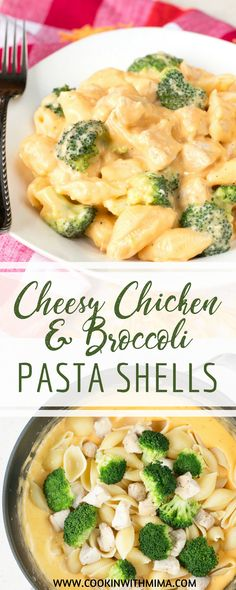 Cheesy Chicken Broccoli Pasta Shells Cheesy Chicken Broccoli Pasta Shells Cookin With Mima Easy Recipes For Families Cookinwithmima Dinner Recipes Cheesy Chicken And Broccoli nbsp hellip Chicken Broccoli Pasta, Chicken Pasta Recipes, Easy Pasta Recipes, Cheesy Chicken, Cooking Recipes, Cheese Recipes, Kraft Recipes, Bacon Recipes, Dinner Recipes