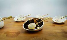 JOMON Panna Cotta, Branding Design, Porcelain, Ethnic Recipes, Tableware, Desserts, Food, Balcony, Tailgate Desserts