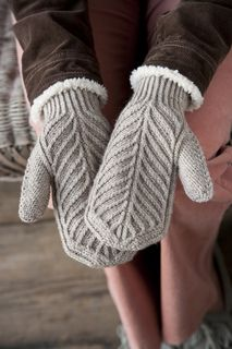 The back and palms of these textured mitts are to die for! -- Palomino Mittens by Elli Stubenrauch Published in November Knits