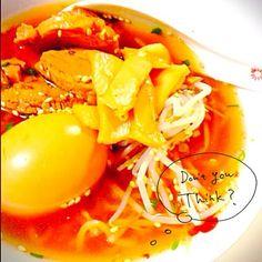 初めて作った♡醤油らーめん! チャーシューはヒレ肉でヘルシーに スープも大成功‼︎ - 22件のもぐもぐ - 醤油らーめん♥︎ by aiai0707