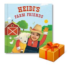 Fifth Day of Book Gifting: I See Me! My Farm Friends Personalized Book
