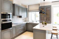 Shaker Kitchen, Grey Paint, Home Kitchens, Kitchen Cabinets, Kitchen Ideas, Interiors, Home Decor, Decoration Home, Room Decor