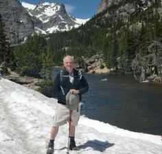 Jim Franckum, 66, hikes for the health benefits (he is a Parkinson's patient), the company, and, occasionally, the solitude. Whatever your reason, get out there and explore nature!