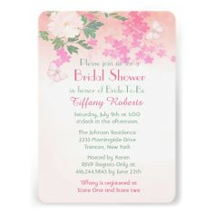 Lovely Peony garden Wedding or Bridal Shower Invitation with floral theme in soft pink, and white with touch of green. Matching card back. Text is ready for your customization.. Design is part of a set. Visit my store to view other collection items.   #peony #floral #flowers #peonies #pink #garden #elegant #bridalshower #bridal #shower#wedding #weddings #summerweddings #summer  #savethedate #showerinvitations #wedding #summer