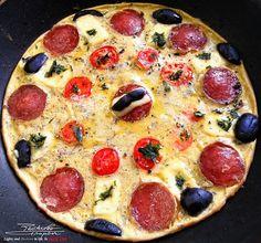 The midweek energy boost. Sausages, Guilty Pleasure, Parsley, Tomatoes, Pepper, Eggs, Cheese, Food, Essen