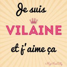 Je suis #vilaine et j'aime ça - #MyNiceCity