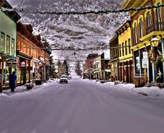 Georgetown, Colorado Christmas is so neat here | Beautiful Places ...