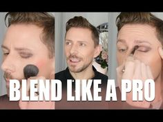 QUICK MAKEUP TIP - HOW TO BLEND LIKE A PRO IN SECONDS! - YouTube
