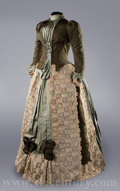 Dress, 1880's