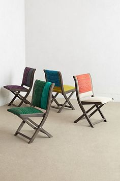 Great folding chairs #anthrofave
