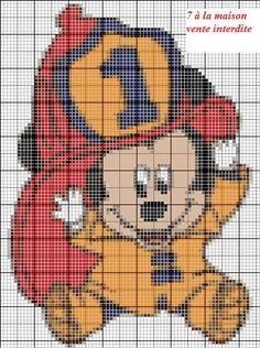 free chart - Blog 7th Heaven, cross stitch, knitting, free charts ...