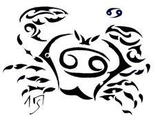 Cancer Zodiac Tattoo Designs For Men - TattoosDesignFree.