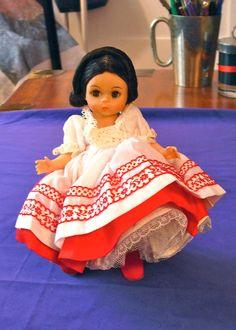 1970s Vintage Madame Alexander Doll Russia by SparkleLightAndDark, $15.00