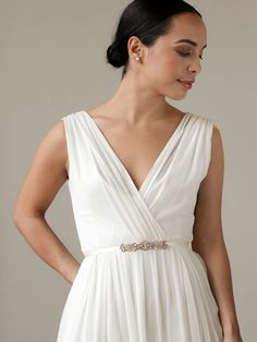 The dewy, sparkling rhinestone and pearl flowers are feminine and bold, set inside rose gold wiring. Disney Wedding Dresses, Country Wedding Dresses, Wedding Dresses Plus Size, Colored Wedding Dresses, Plus Size Wedding, Dream Wedding Dresses, Boho Chic Wedding Dress, Elegant Wedding Gowns, Modest Wedding