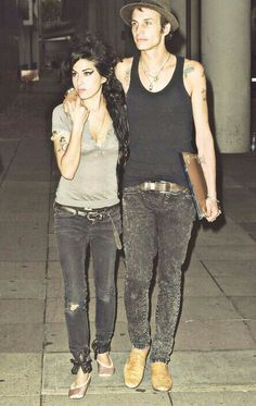 Blake Fielder-Civil and Amy Winehouse Amazing Amy, Amy Winehouse, Jim Morrison, Celebs, Celebrities, Back To Black, Sexy Ass, My Idol, Icons