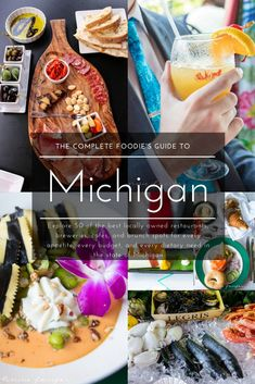 The Complete Foodie's Guide to 50 of the Best Locally Owned Restaurants in Michigan Wine Recipes, Snack Recipes, Snacks, Travel Articles, Travel Advice, Travel Tips, Road Trip Hacks, Road Trips, Best Places To Eat