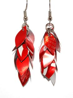 Aluminum Little Leaf Earrings