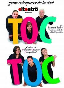 "De ""El Teatro"" de Quito, llega al Teatro Centro de Arte la obra TOC TOC, dirigida por Christoph Baumann."