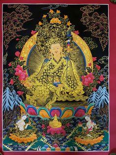 Thangka Paintings from Tibet Buddhism Wallpaper, Vajrayana Buddhism, Lord Shiva Painting, Thangka Painting, Tibetan Art, Watercolor Paintings Abstract, Hindu Art, Native Art, Tribal Art