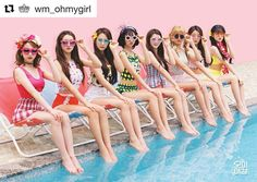2016.08.01 Stay tuned  #내얘길들어봐  #Repost @wm_ohmygirl with @repostapp  OH MY GIRL SUMMER SPECIAL ALBUM '내 얘길 들어봐' Coming Soon 2016.08.01 #오마이걸 #OHMYGIRL #내얘길들어봐 #Aing #아잉 #summer #썸머 #OMG #8 # #수영복 #swimsuit #비치웨어