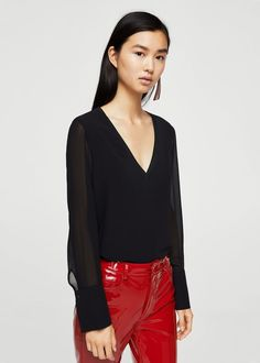 Double-layer blouse - Women | USA