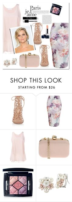 """""""Spring!!"""" by christinacastro830 ❤ liked on Polyvore featuring Gianvito Rossi, New Look, Chloé, Viktor & Rolf and Christian Dior"""