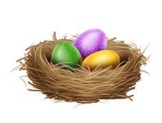 easter easters, eggs, tube