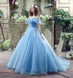 Datangep Lace up Ball Gown Long Quinceanera Dress with Pleated Straps - Ball Gown Design makes the Dress appropriate for a quincenera, birthday party, cosplay or other occasions. High quality organza gives you comfortable feeling!